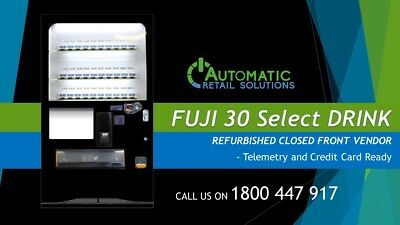 FUJI 30 Selection Drink Vending Machine – Available Sydney and Melbourne