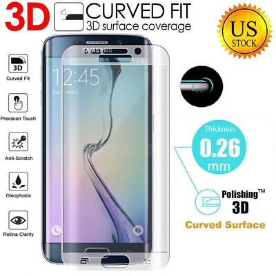 For Samsung Galaxy S8 S8 Plus 3D FULL COVERAGE Tempered Glass Screen Protectors