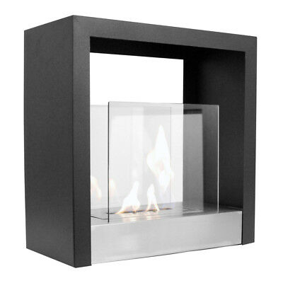 'Moscow' Freestanding Bio Ethanol Fireplace by Designer Fire