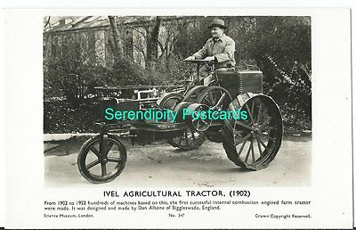 Transport Ivel Agricultural Tractor in 1902 Made Biggleswade RP Science Museum