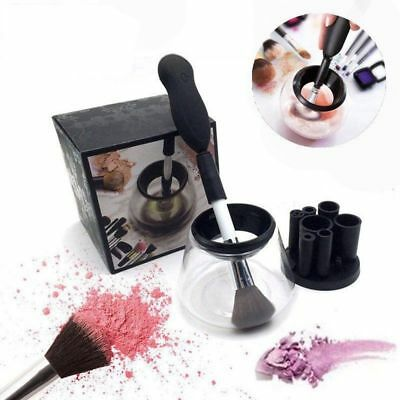 Silicone Electric Makeup Brush Cleaner Set Cosmetic Auto Clean Dry Washing Tools