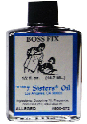 Boss Fix Oil by 7 Sisters of New Orleans - 14.7ML