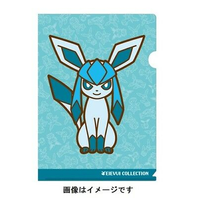Pokemon Center Original Eevee Collection A4 Size Clear File Folder Flareon