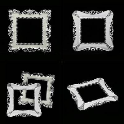Hot Silver Resin Single Light Switch Surround Socket Finger Plate Panel Cover