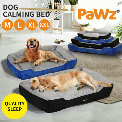Heavy Duty Pet Bed Mattress Dog Cat Pad Mat Cushion Extra Large Large Medium New