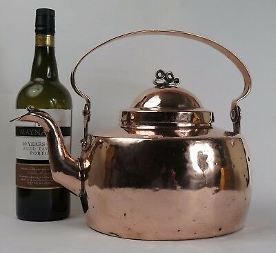 Swedish traditional copper kettle c1790.