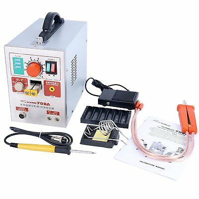 1.9kw Pulse Spot Welder Sunkko 709A Battery Welding Soldering Machine USA 110V
