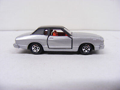 Tomica Tomy 1/63 No F38 Ford Mustang ll Ghia Silver  Rare New Model Only Japan
