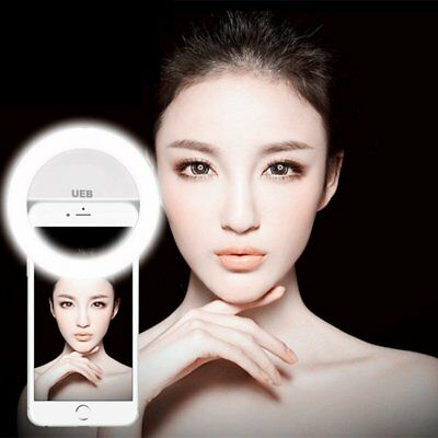 Circle Lights for iPhone Selfie Ring Light Raphycool 36 LED Fill-in Lighting ...