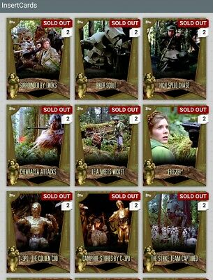 Star Wars Card Trader Brown Endor Locations With Award