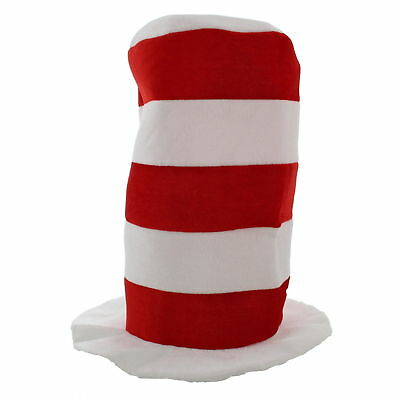 Zac's Alter Ego® Red & White Striped Tall Hat