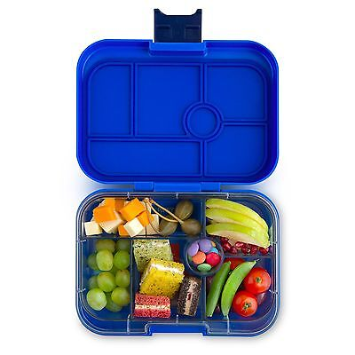Yumbox Classic - Neptune Blue.  Leakproof, bento, lunchbox, suitable 0-8 years