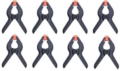 8x MICRO A Type Plastic Spring Clips 3in Heavy Duty Spring Clamps Market Stall