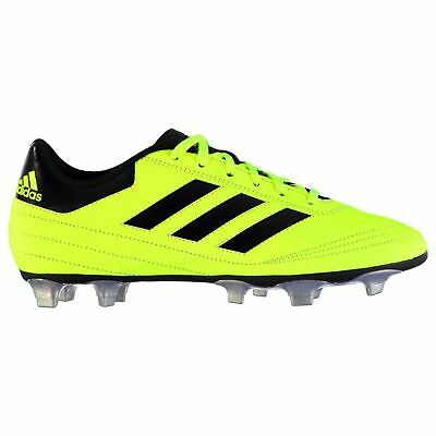 adidas Goletto FG Firm Ground Football Boots Mens Yellow Soccer Cleats Shoes