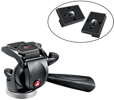 Manfrotto 391RC2 Junior Head w/ Two Replacement Quick Release Plates