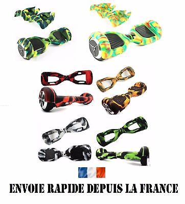 Housse silicone Coque de protection Hoverboard 6,5 pouces -Neuf-9 couleurs dispo