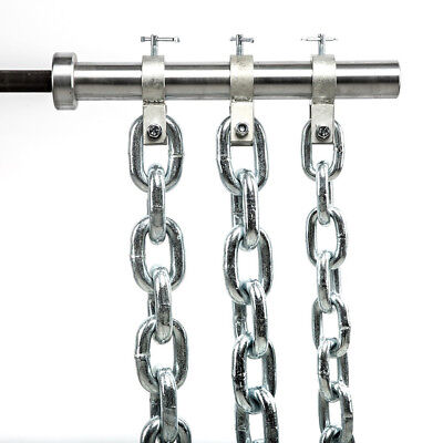 Powerketten / Power chains / Gewichtsketten / Training 16 / 24 / 32 kg - Paar