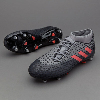 ADIDAS ADIZERO MALICE SG MEN'S RUGBY BOOTS.NEW! Siize: 12 & 13 USA