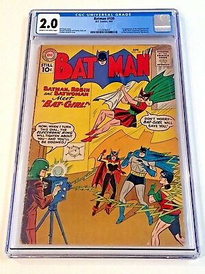 Batman #139 CGC 2.0 1st App Bat-Girl Betty Kane Silver Age DC KEY Scarce Book