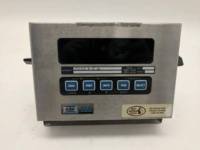 GSE Model 460 200460-00000 5000lb Weight Scale Indicator