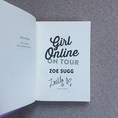 SIGNED Girl Online On Tour By Zoe Sugg