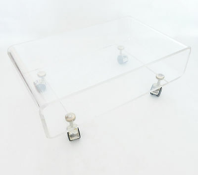 coffee table extra plexiglas DAVID - LANGE 70 years