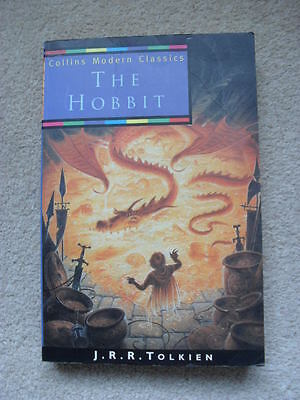 The Hobbit by J R R Tolkien - paperback book