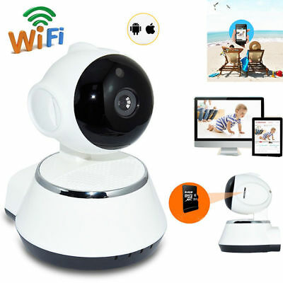 720P Wifi Baby Video Audio Monitor Babyphone mit Kamera Babyviewer Nachtsicht