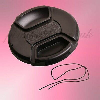 58mm Front Lens Snap-on Cap Cover fits Nikon Olympus Canon Fuji Sony Panasonic