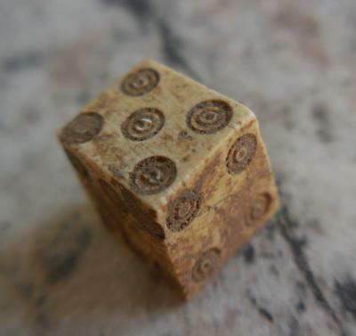 Fine Genuine Ancient Roman Die Or Dice 2Nd-3Rdc Ad