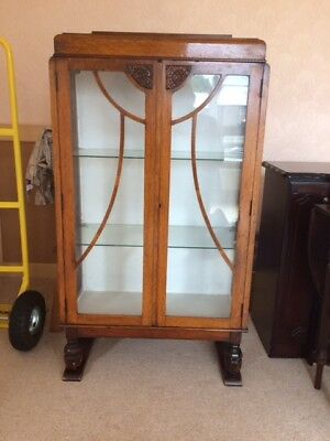Retro Glass Display Cabinet