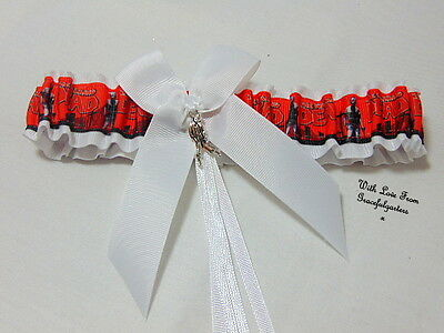 Walking Dead Zombie Bridal Wedding garter