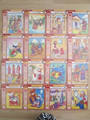 BEGINNERS BIBLE STUDY CARD LOT 192~New Sealed~EVENTS~New Old Testament~PARABLES~