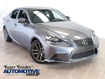 2015 Lexus IS F-SPORT Sedan 4-Door 2015 LEXUS IS350 F-SPORT NAV LEATHER SUNROOF REAR CAM