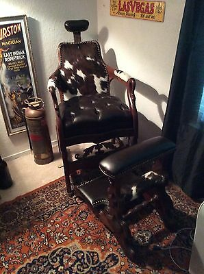 1867 barber chair made by archer