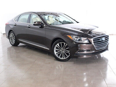 2017 Hyundai Genesis G80 2017 Genesis G80 LEATHER NAV REAR CAM SUNROOF HEATED SEATS