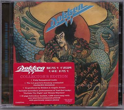 Dokken 'beast From The East' Rock Candy 2017 Remastered Deluxe 2 Cd Edition!
