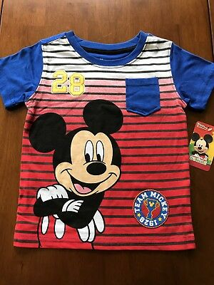 Mickey Mouse short sleeve shirt with pocket