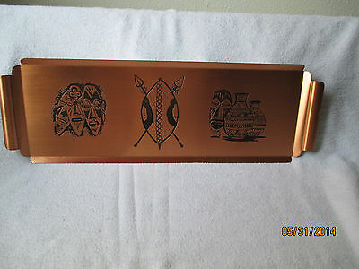 Copper tray from Zambia Africa
