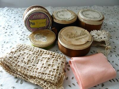 Antique Silk Ribbon Spool Rolls Lace Vintage Assortment RARE! Gift for Tailor