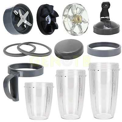 Replacement Parts Blade/Gasket/Lip Ring/Handle/Flip Top/Cup for Nutribullet