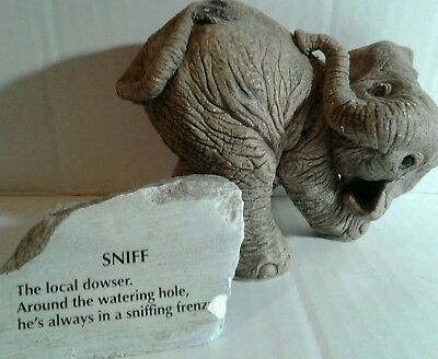 "Martha Carey The Herd elephant ""Sniff"""