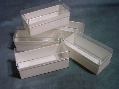 Mann Clearview SB80 Slide Storage Box, holds up to 80 mounted slides, Lot of 80