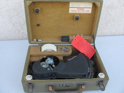 WII Army Air Force BUBBLE SEXTANT Type A-12 USAAF Military A12  Link Aviation
