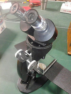 Cool Vintage Unitron Msh Stereo Biological Microscope With Case And Assessories