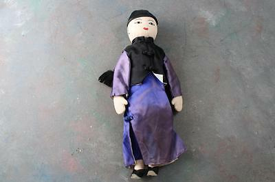 Vintage Handmade Chinese Cloth Boy Doll