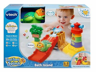 New Vtech Baby Toot-Toot Splash Bath Island 187603