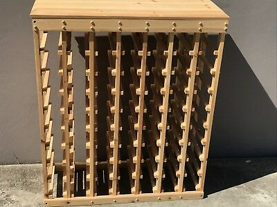 63 Bottle Timber Wine Rack. BRAND NEW Great gift for wine lovers, wine storage !