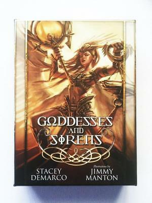 Goddesses And Sirens 38 Card Deck And Guidebook By Stacey Demarco - New Sealed