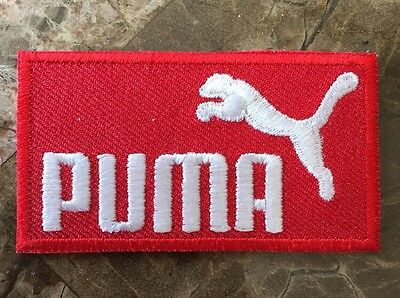 RARE Official Ferrari F1 Red PUMA Sponsor Uniform Patch - Massa - Schumacher